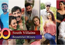 South Indian Villains Wives